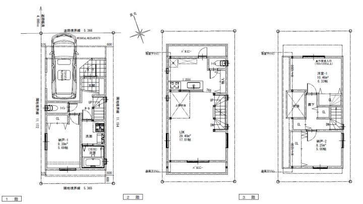 3ldk 吹き抜け 3階建て 平面図 3階建て Ldk 間取り 3階建て 間取り