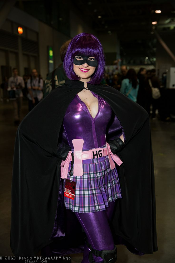 My updated Hit-girl cosplay for PAX East 2013: https://www.facebook.com/QueeniesCosplay