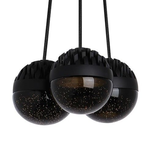 Lbl lighting sphere 3 light chandelier