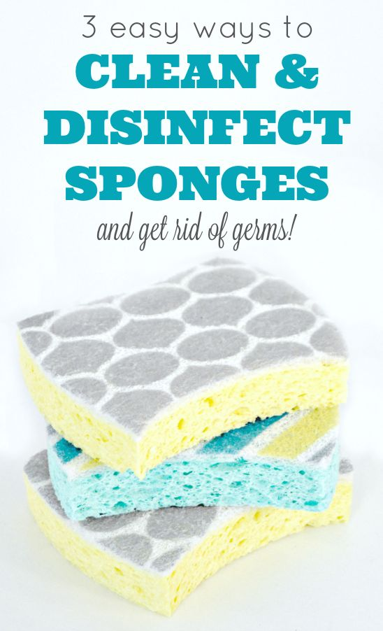 3 easy ways to clean and disinfect sponges and get rid of germs in your kitchen…