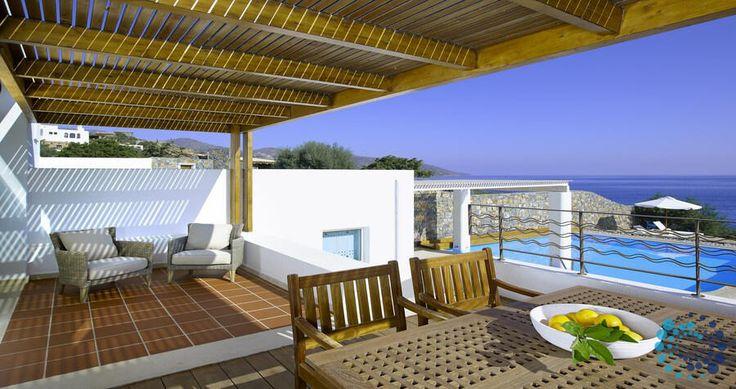"Welcome to the ""Villa Hermes"" in Crete, Greece. Your #luxury #villa #rent #greece #greek #island #vacances #grece #mygreekvilla #alouer"