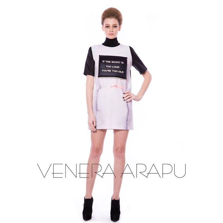 Hit the party and let the music play to the beat of your heart. Shop the dress on shop.venera-arapu.com