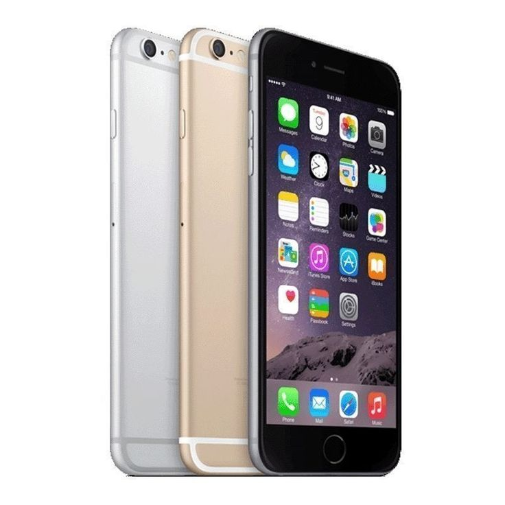 "Apple iPhone 6 Plus 5.5"" SmartPhone For AT&T Sim Card NOT Included! Headphones Not Included This Auction Includes: iPhone High Quality Certified USB a... #gray #silver #gold #smartphone #iphone #plus #apple"
