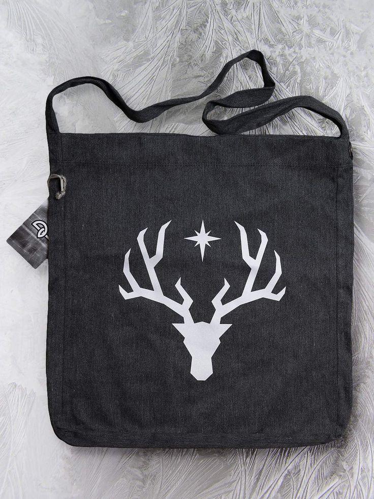 Polaris sling tote bag by Paranoia Borealis.