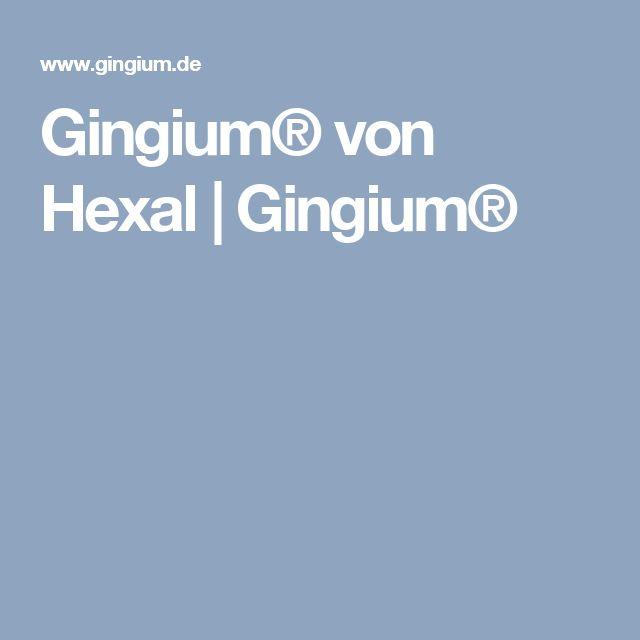 Gingium® von Hexal   Gingium®