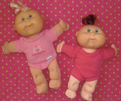 Baby Onesie into Doll Onesie -- TUTORIAL: Cabbage Patch, Doll Clothes, Dolls, Doll Onesie, Baby Doll, Tutorial, Obsessively Stitching, Baby Onesie