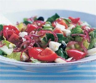 THE ULTIMATE GREEK SALAD | Recipes | Nigella Lawson- I love Greek salad.