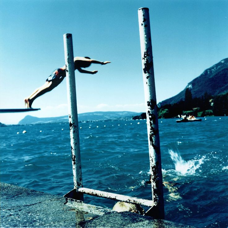 Karine Laval: The Pool #18, Annency, France, 2002