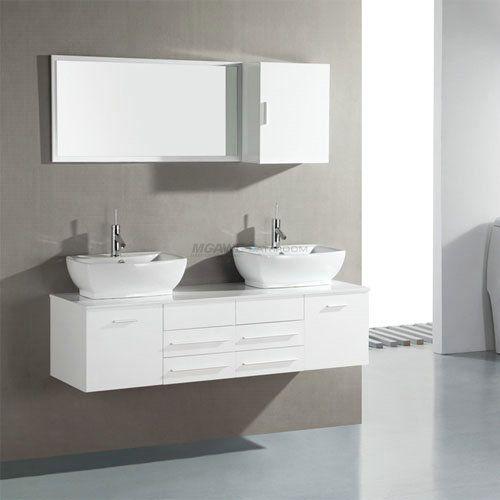 36 best glass sink vanity images on Pinterest   Vessel sink vanity ...