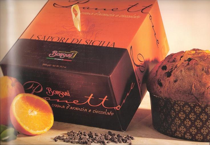 Borsari cream & orange panettone