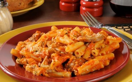 Rigatoni with Vegetable Bolognese Recipe by Giada De Laurentiis