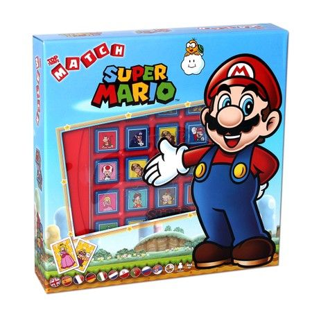 Super Mario Top Trumps Match Cube Game