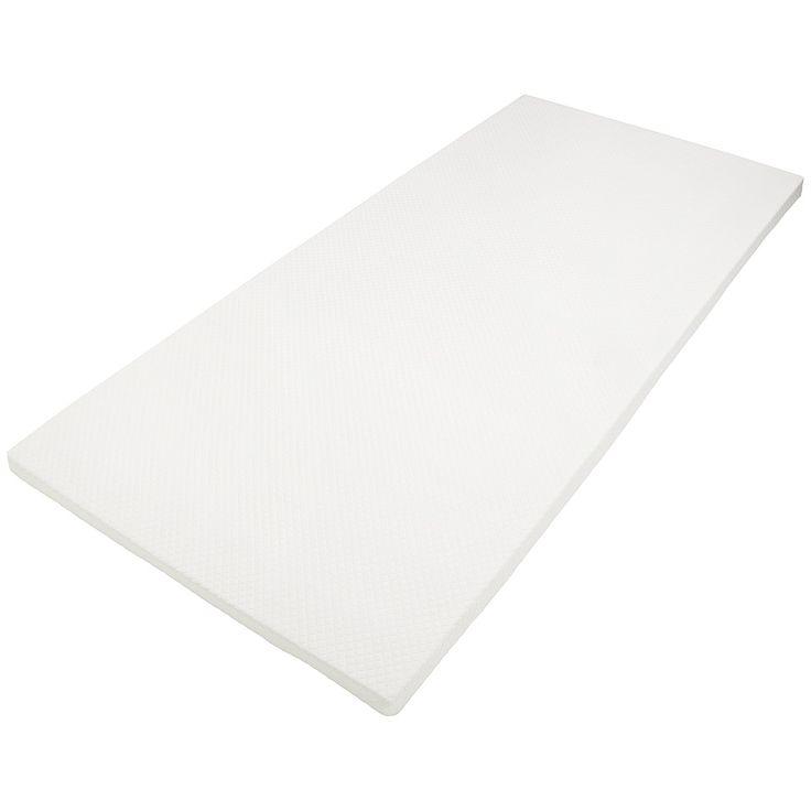 90€ - 140 x 200 x 5 cm - DAILYDREAM® Colchón topper ortopédico viscoelástico, de espuma con efecto memoria, densidad de 50, dimensiones de  Amazon.es: Hogar