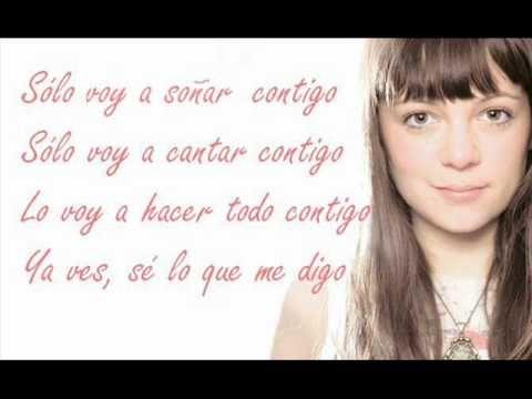 Letra Contigo - Natalia Lafourcade Con El Canto Del Loco - YouTube