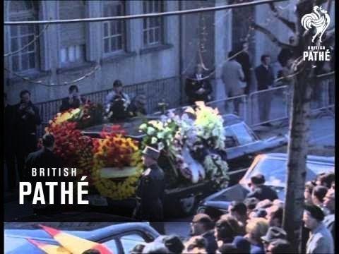Funeral Of Queen Victoria Eugenie (1969)