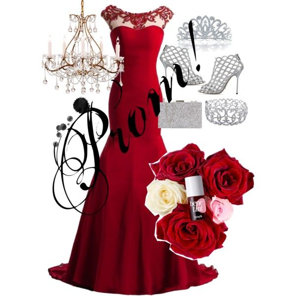 Prom! by mafuja15 on Polyvore featuring polyvore, fashion, style, Sergio Rossi, Ice and Bling Jewelry