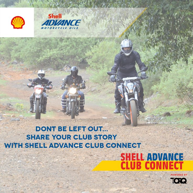 Shell Advance Club Connect @ TORQ app. Find out more about the motorcycling community, their stories, their accolades & their pulse. Download the TORQ app from Playstore, share your club's story and stay connected. #TheWinningIngredient