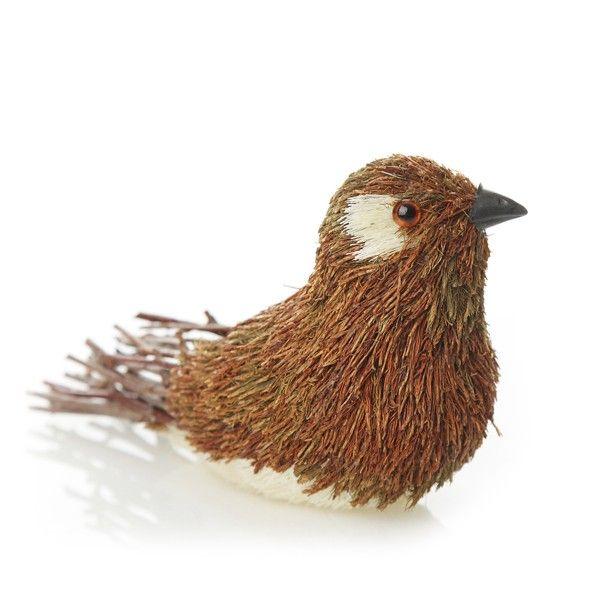 Natural Sisal and Twig Bird
