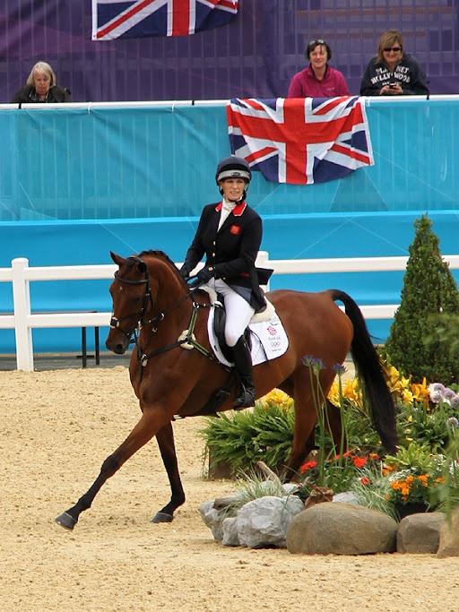 London 2012 Olympics Equestrian Event - Team GB - Zara Phillips  #Olympics # Equestrian