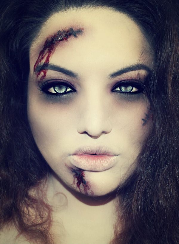 Zombie makeup... Yes, cuz nothing says