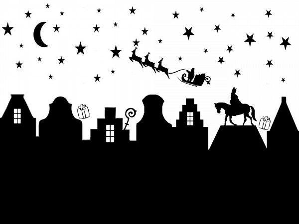 Super gave raamsticker voor Sinterklaas en Kerst. Gebruik hem voor Sinterklaas...haal daarna het paard en de staf weg en gebruik de bijgeleverde arrenslee! Zo geniet je langer van deze mooie sticker. Knip de sticker eventueel in stukken om over meedere ramen te verdelen. Afmetingen: ca 80 x 60 cm breed (afhankelijk van hoe je de sterren plakt) Wordt geleverd met de sterren los op een vel, zodat je zelf je eigen unieke indeling kan maken!