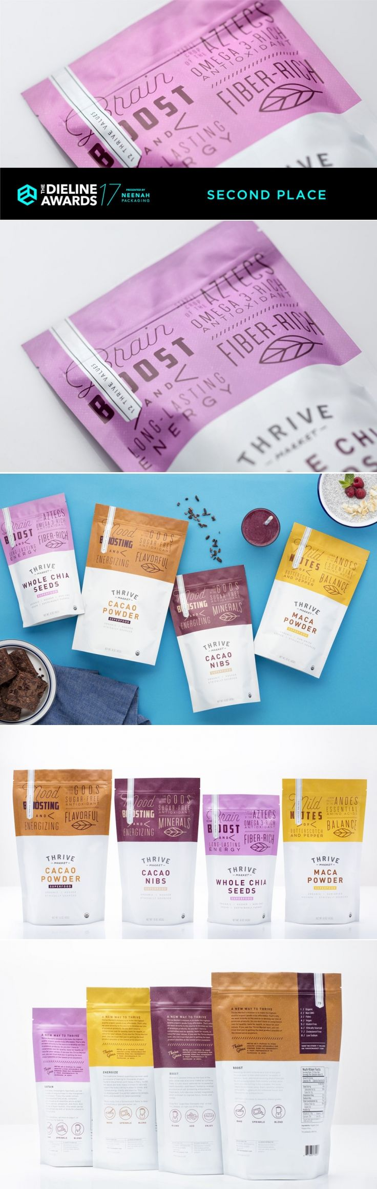 The Dieline Awards 2017: Thrive Market Organic Superfoods — The Dieline | Packaging & Branding Design & Innovation News