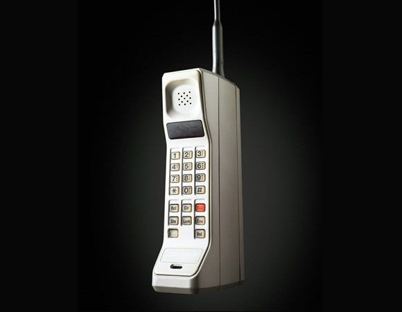 1983 - Motorola DynaTAC 8000X. The first truly mobile phone.