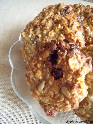 Ciasteczka owsiane z wybuchową mieszanką Овсяное печенье с гремучей смесью.