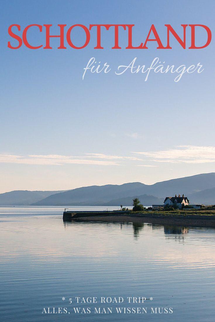 Wenn ihr eine Reise nach Schottland mit dem Mietwagen plant, aber noch nicht genau wisst, welche Route ihr nehmen sollt oder wo ihr übernachten könnt, dann haben wir hier für euch die ultimativen Tipps! Die perfekte Route vor allem für Schottland Anfänger. #roadtrip #schottland #highlands #reisen
