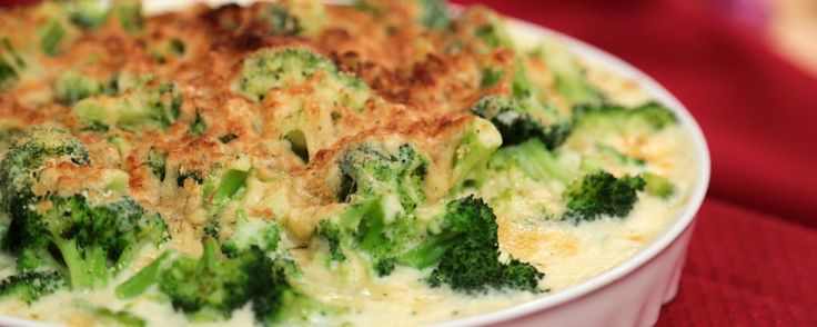 Lækker og cremet ret med broccoli.