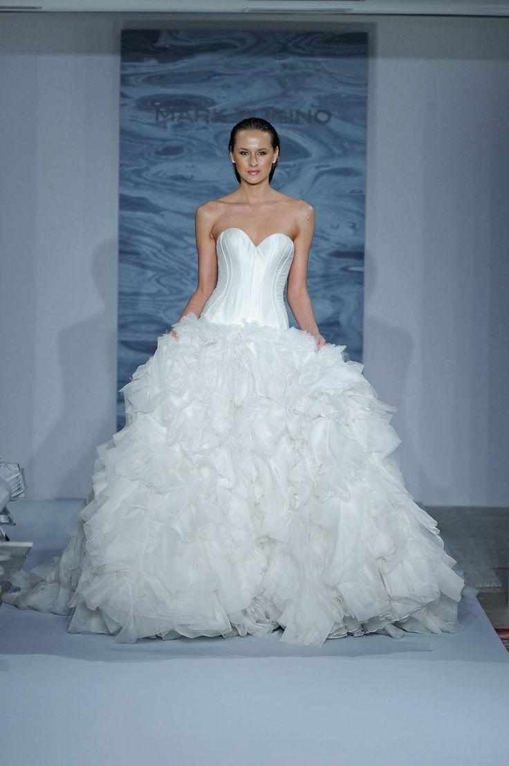 48 best Dennis Basso images on Pinterest | Short wedding gowns ...