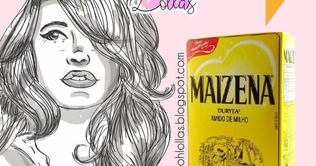 A forma correta de fazer hidratação com Maizena nos cabelos. Também chamada touca de gesso, pode ser feita com qualquer marca de amido de milho.