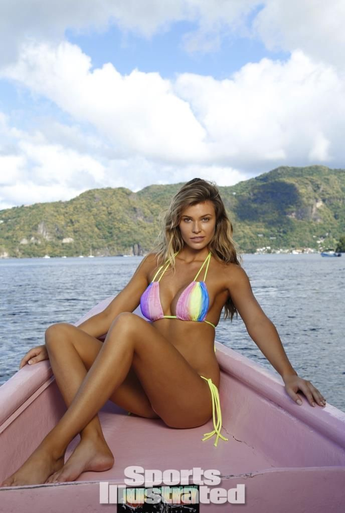 Samantha Hoopes – on Sports Illustrated's 50th anniversary
