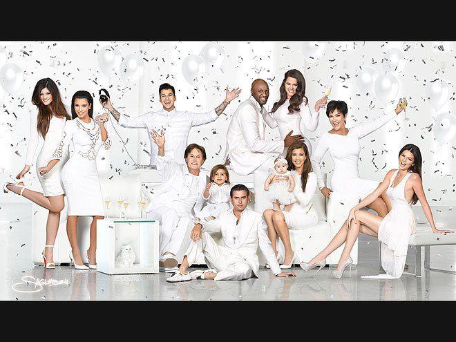 The Kardashians Very Merry Christmas Cards Through The Years Kardashian Christmas Card Kardashian Christmas Family Christmas Cards