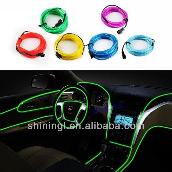 New 3 Meters Electroluminescent Neon Flexible Light Glow EL Car Wire Rope Green $12~$18  http://www.justleds.co.za