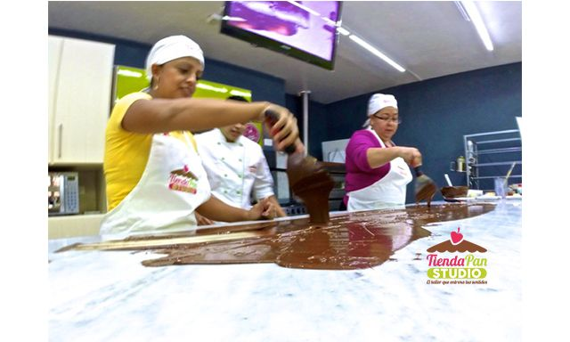Temperando Chocolate Real