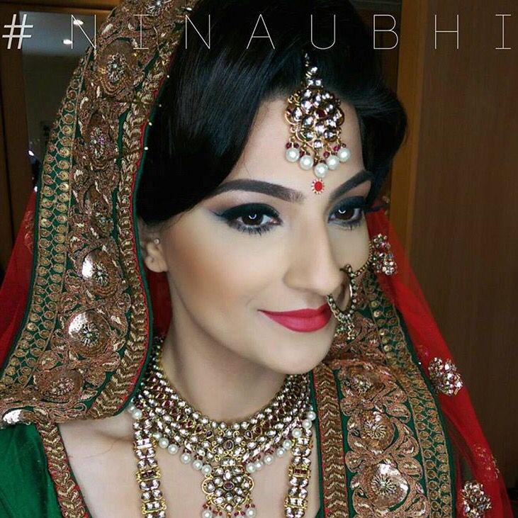 Bridal makeup by Nina Ubhi. Bridal Makeup Artist / Bridal
