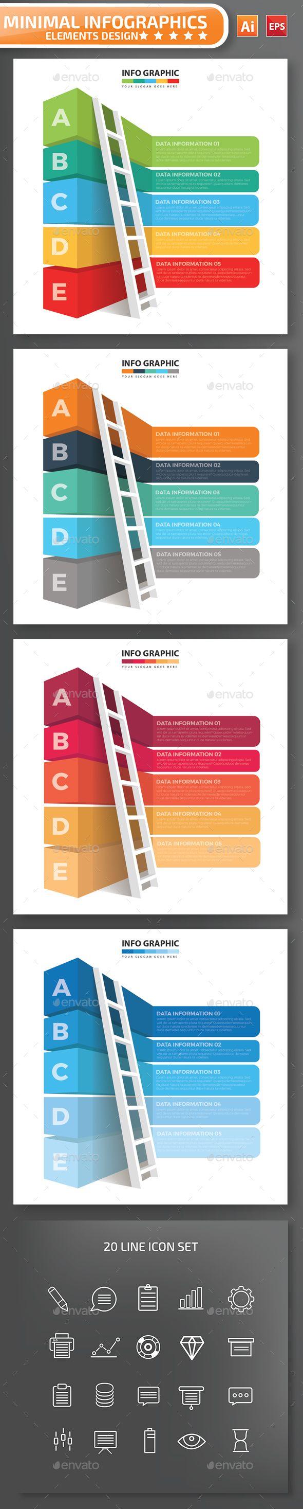 Minimal infographic Design - Infographics