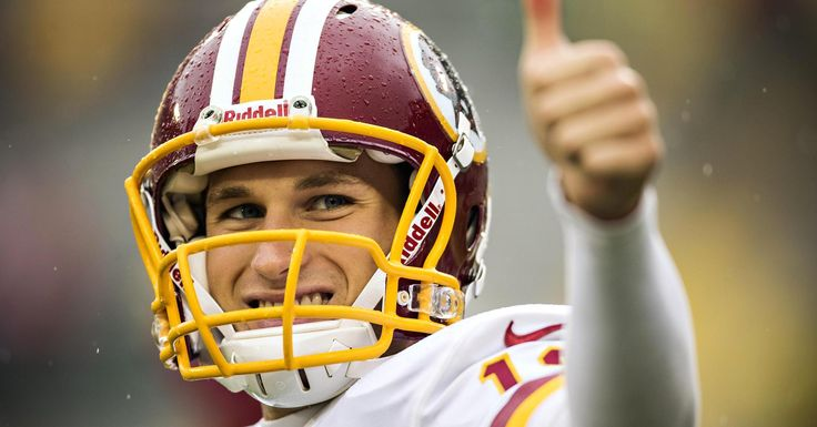 Kirk Cousins spends the off-season in his parents' basement with his wife.