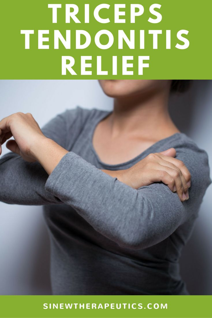 Triceps Tendonitis Relief - Your arm may feel more sensitive to the cold and ache in cold and damp weather due to impaired circulation. Increasing local circulation helps prevent cold and dampness from penetrating the injured area, preventing pain and stiffness. Learn more at SinewTherapeutics.com