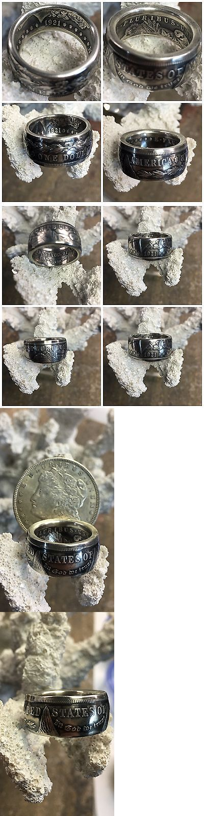 Rings 110666: American History Quality 1921 Morgan Silver Dollar Hand Crafted Coin Ring -> BUY IT NOW ONLY: $76.5 on eBay!