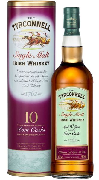 Time to taste another Irish whisky, this time a Tyrconnell from the Kilbeggan Distillery (Cooley). Tyrconnell Single Malt Irish Whiskey is an historic Irish whiskey brand from the 1900's named after a horse that won a legendary race at odds of 100 to 1. Made from 100% malted barley in traditional copper pot stills Tyrconnell has a beautiful fresh, fruity bouquet with a... #kilbeggan #tyrconnell
