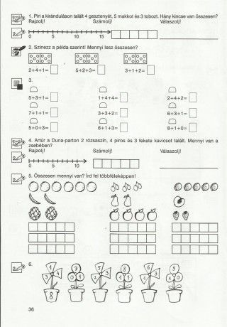Gyere mesélj! - Képgaléria - Sulis feladat lapok (alsó tagozat) - Általános Matematika 1. osztály - 37