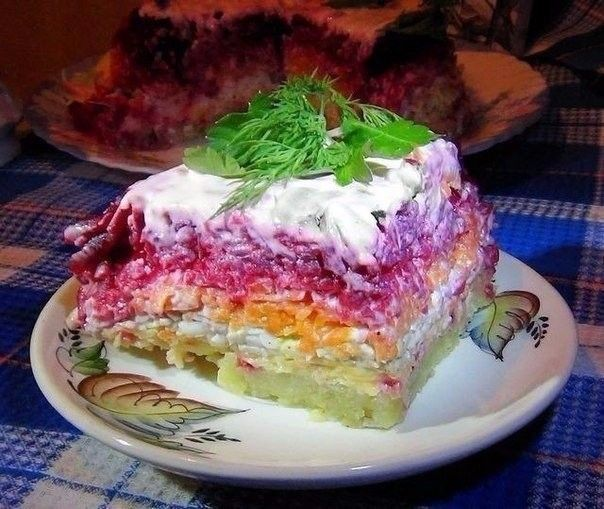 Все кто пробовал потом выпрашивали рецепт этого салата. ОБЯЗАТЕЛЬНО сохраняйте СЕБЕ это ЧУДО ! Этот сытный и остренький салат с мужественным названием придётся по …