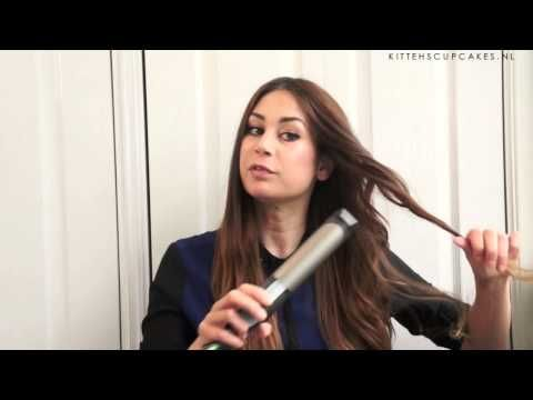 How I Style My Hair - Golvende krullen - YouTube