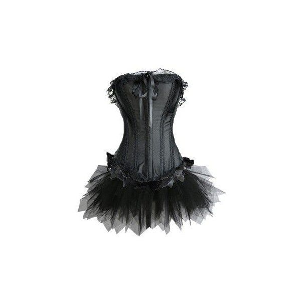 CORSETTO DEL VESTITO & TUTU BURLESQUE 688-2-alibaba.com ❤ liked on Polyvore featuring dresses, corsets, tops and vestidos