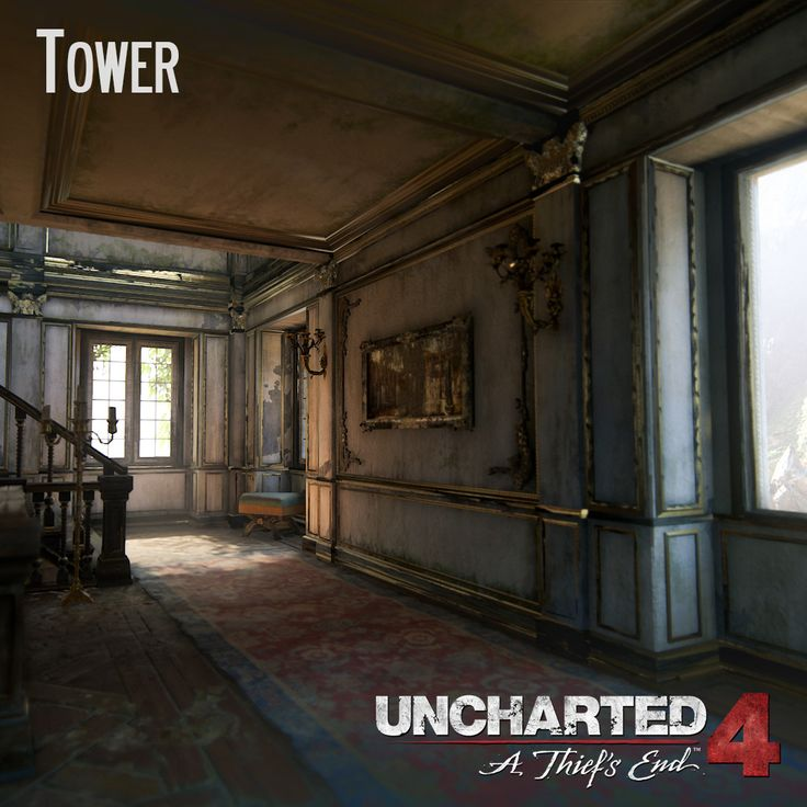 Uncharted 4 - Tower, Andres Rodriguez on ArtStation at https://www.artstation.com/artwork/aaka8