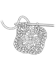 Clip Art Crochet Clip Art 1000 images about knitting and crochet clipart on pinterest crocheting a granny square martha stewart crafting