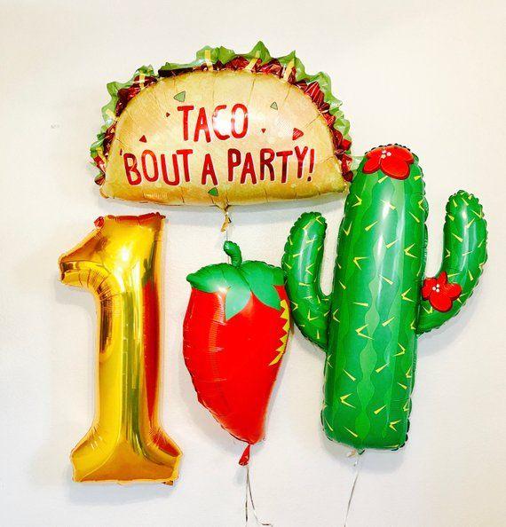 Taco bout a party,taco balloon,taco tuesday,fiesta decorations,taco bar,giant taco balloon,fiesta balloon,taco party,fiesta ideas,taco