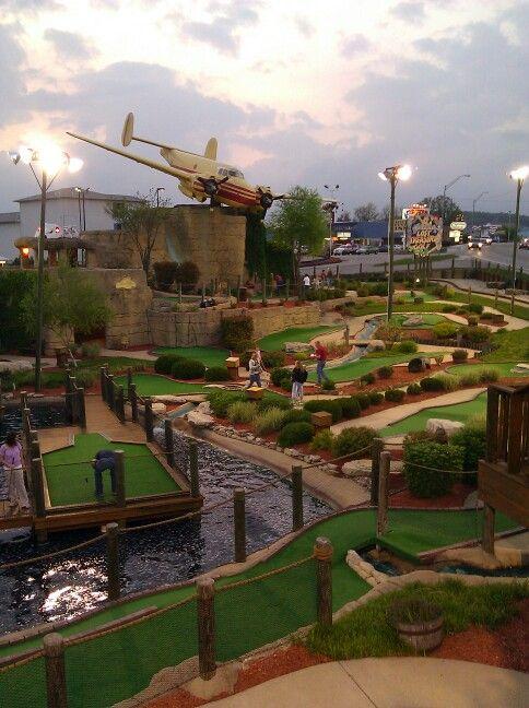 Lost Treasure Mini Golf, Branson Missouri. So much fun ...